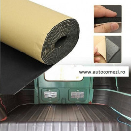 Rola material insonorizant buretat cu adeziv 1m x 10m
