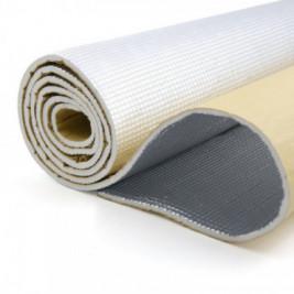 Rola material insonorizant aluminiu 6mm 1M X 10M