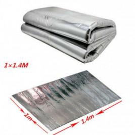 Material insonorizant aluminiu 6mm 1.4 x 1m