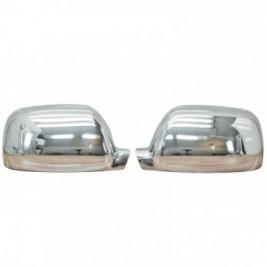 Set ornamente crom oglinda VW Touareg I 2002-2006 Pre-Facelift