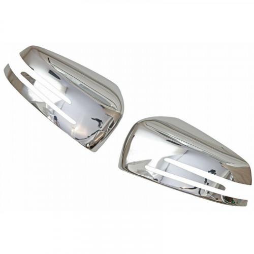 Set ornamente crom oglinda MERCEDES Clasa C W204 2011-2014 Facelift